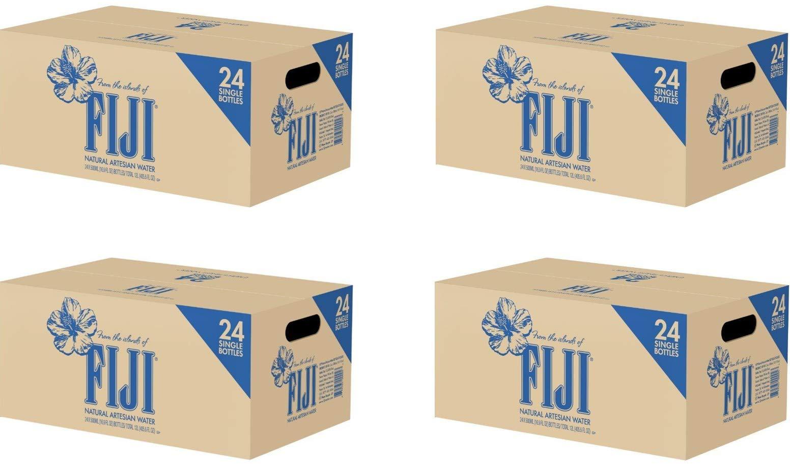 PIUFXSD Natural Artesian Water, 16.9 Fl Oz (Pack of 24 Bottles) (4 Pack of 24)