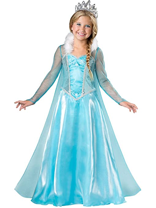 InCharacter Costumes Snow Princess Costume, One Color, 4