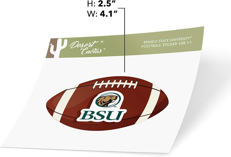 Bemidji State University BSU Beavers NCAA Vinyl Decal Laptop Water Bottle Car Scrapbook Football Logo Sticker