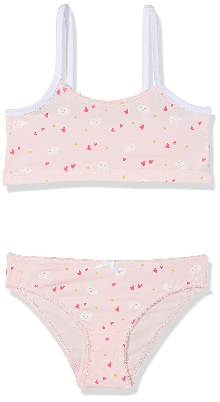 ZIPPY Girl\'s Rose Underwear Set