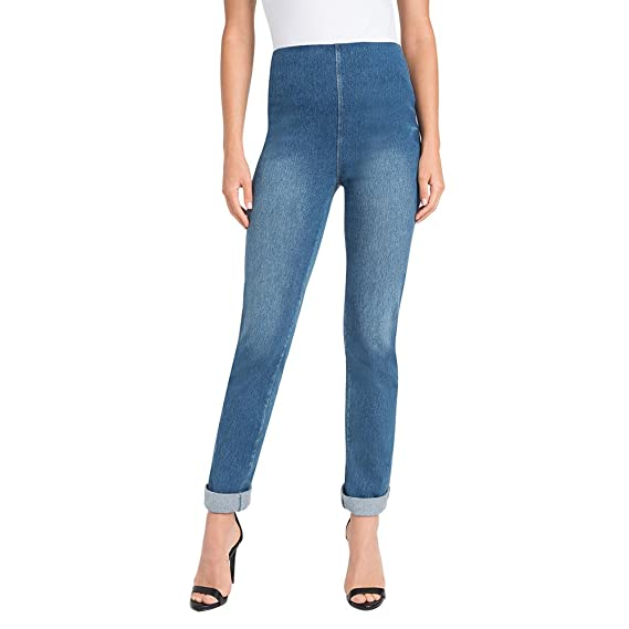 8dd063d6a2fcb Lyssé Women's Boyfriend Denim at Amazon Women's Jeans store