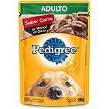 Ração Úmida Pedigree Sachê Carne ao Molho para Cães Adultos 100 g
