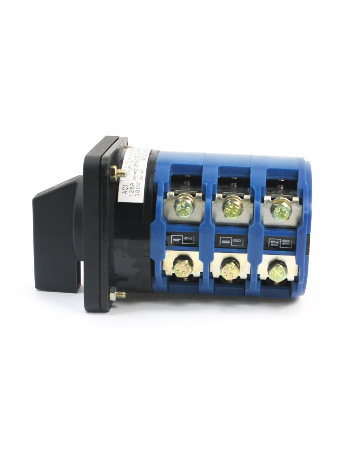 uxcell 380V 125A 3-Phase 3-Position Panel Mount Rotary Cam Changeover Switch by uxcell (Image #1)