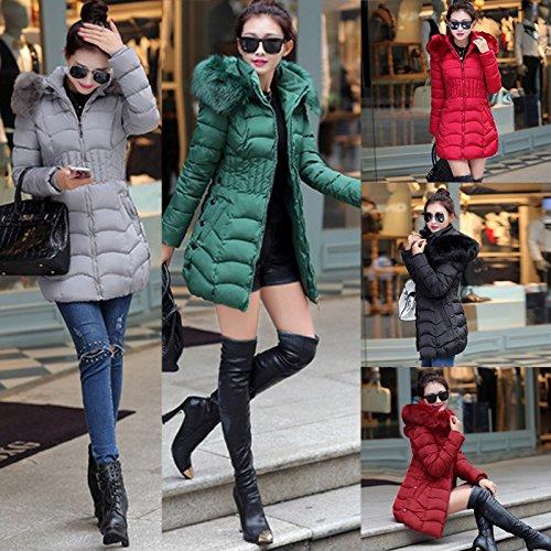 Jacket Mi Long Manteau Veste Doudoune Elegant Hiver Duvet Femme mioim 0UqwXX