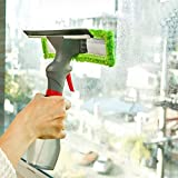 RASIKVAR (LABEL) Easy Glass Cleaner 3 in 1 Glass Cleaner Spray Pump, Microfiber Cleaner and Wiper Best for Car Home Office Window Glass Cleaner
