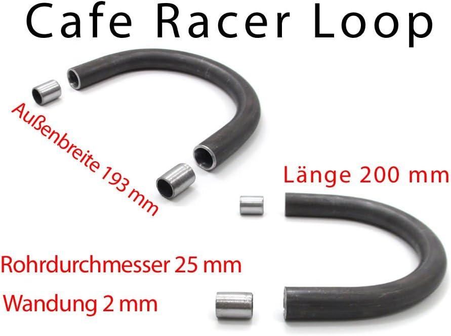 Cafe Racer Loop Heckrahmen Sitz Frame 193mm 200mm Scrambler Bobber