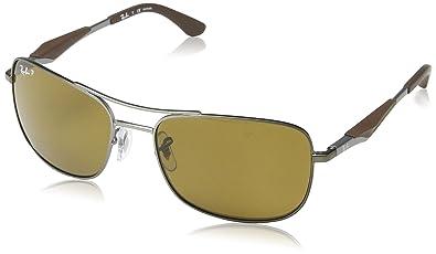 ray ban aviator sunglasses egypt  ray ban 3515 004/71 gunmetal 3515 square aviator sunglasses lens category 3 len