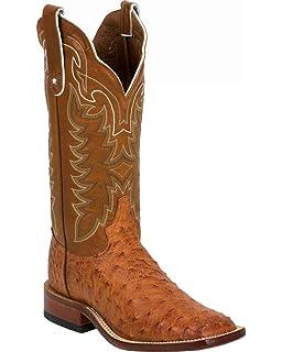 e63438ef8eb Amazon.com | Tony Lama E9321 Men's Vintage FQ Ostrich Western Boots ...