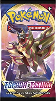 Pokemon - Sobres 10 cartas ESPADA Y ESCUDO: Amazon.es: Juguetes y juegos