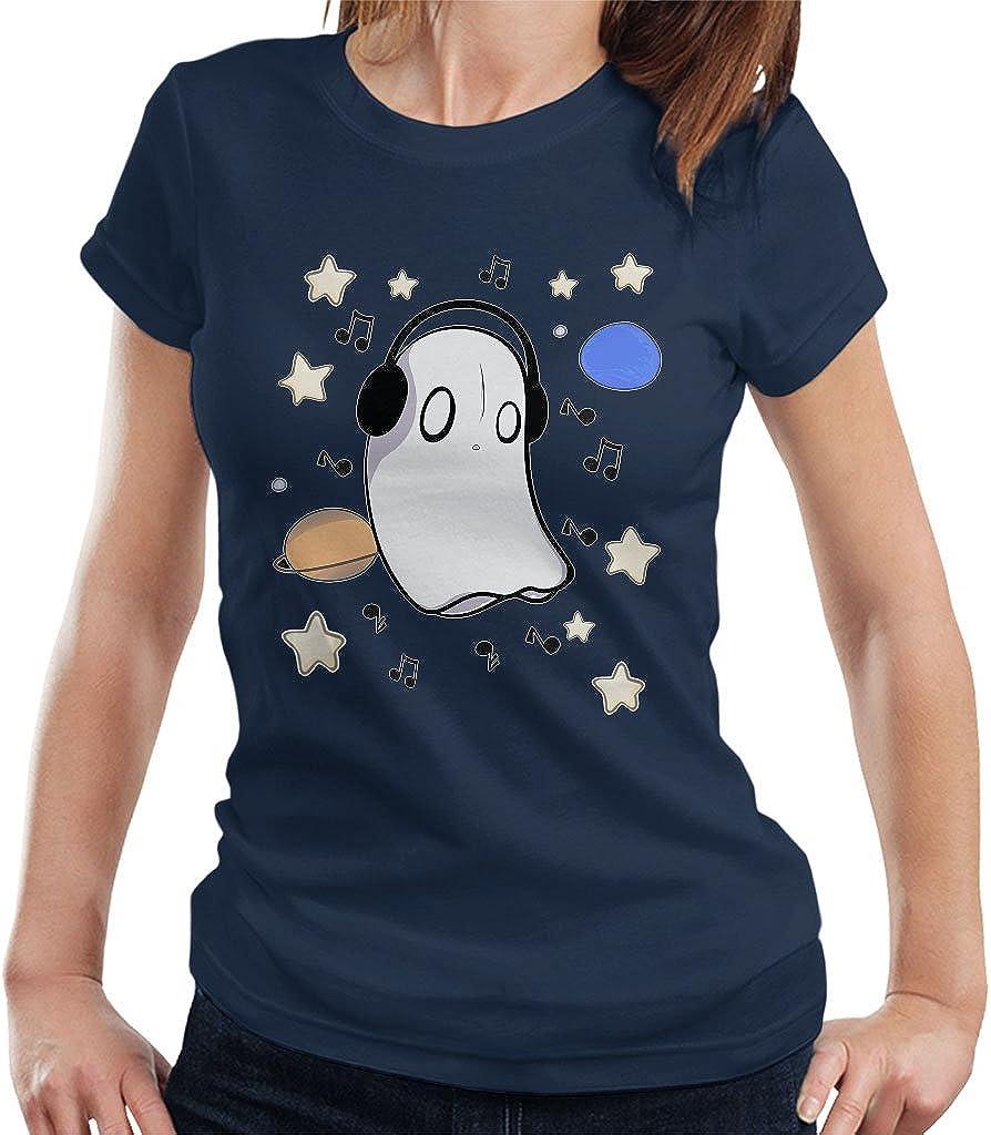 Cloud City 7 Undertale Napstablook Womens T-Shirt