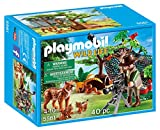 Playmobil Lynx Family with Cameraman Building Kit