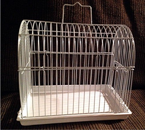 SUGAR GLIDER/SMALL ANIMAL ECONOMICAL TRAVEL CAGE 'SNOW WHITE' COLOR