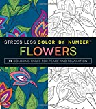 img - for Stress Less Color-by-number Flowers: 75 Coloring Pages for Peace and Relaxation book / textbook / text book