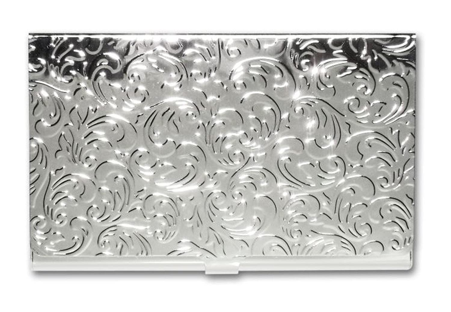 Amazon metal damask embossed business card case silver amazon metal damask embossed business card case silver office products magicingreecefo Gallery