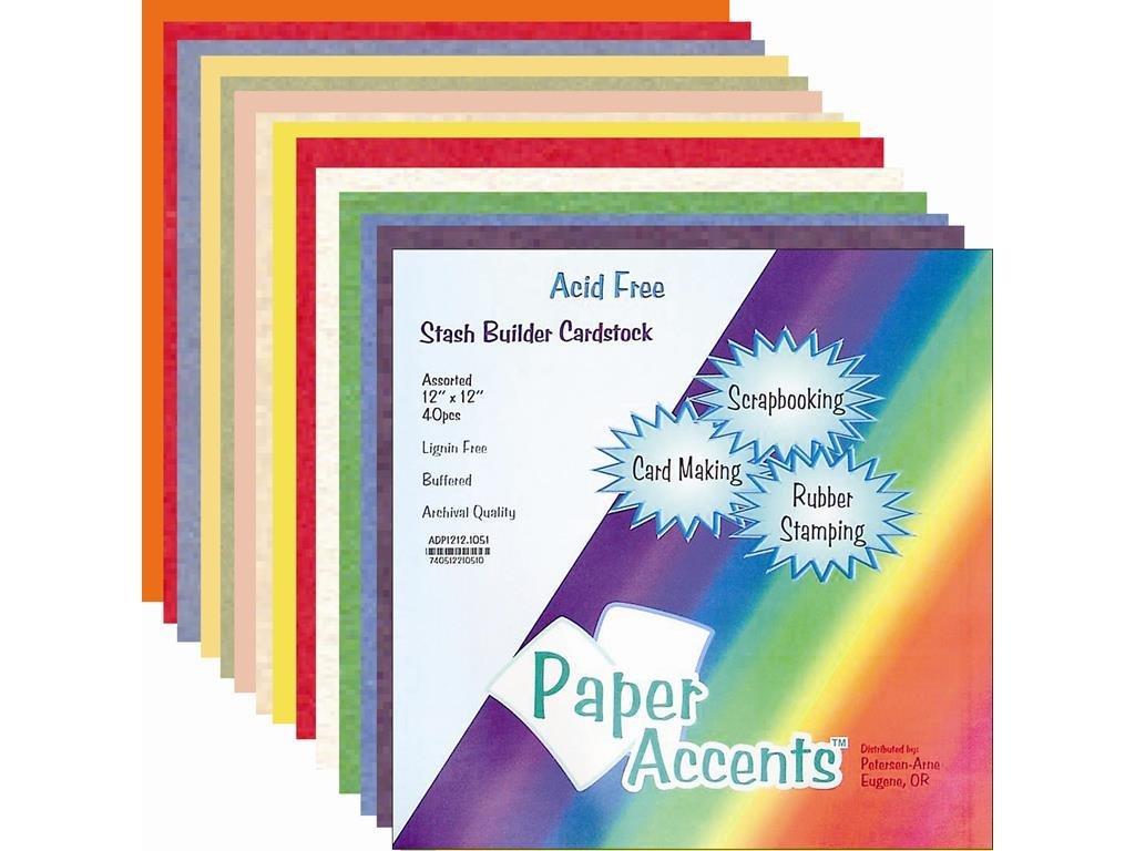 Accent Design ペーパーアクセント ADPaperVarietyPk121220アソートバラエティPk121220AstSB B001DUUGY6