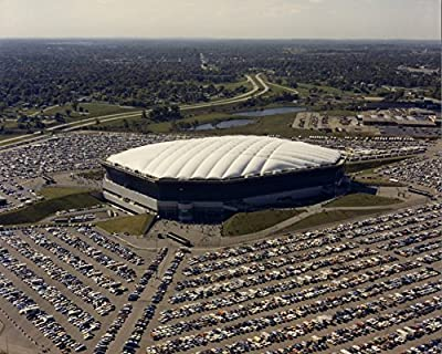 PONTIAC SILVERDOME GLOSSY POSTER PICTURE PHOTO BANNER detroit lions pistons