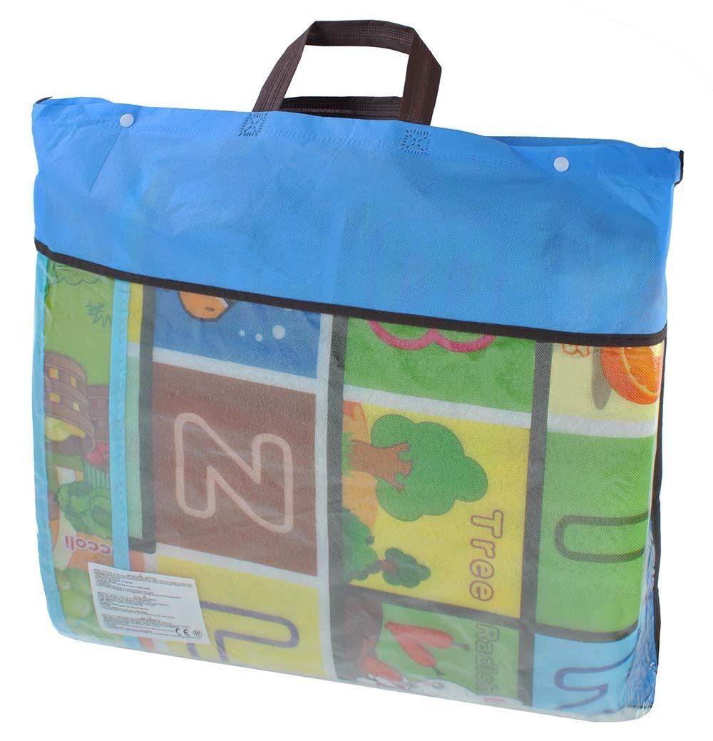 Couverture de matelas thermique grand format pour enfants pour jouer /à la maison et dans le jardin 180x200x0.5cm 6402
