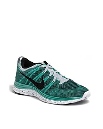 2e07d58df01e Image Unavailable. Image not available for. Color  Nike Flyknit One+ green   black  white 554887 301 size 14