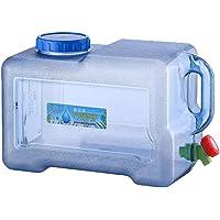 arthomer Bidón de Agua alimentario para Camping de 18 litros con Grifo, depósito de Agua de 18 litros para vehículo para…