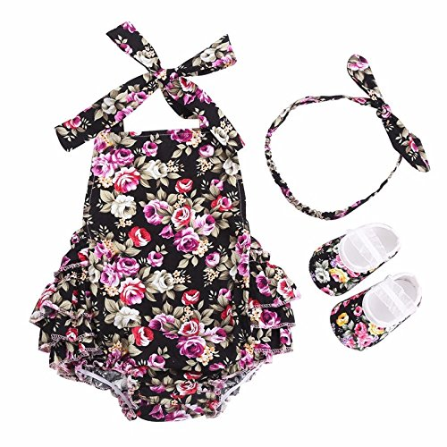 Farook- Newborn Baby Girl Clothes Shoes Headband Set( Age:4-6 months (Ice Age Booster Box)