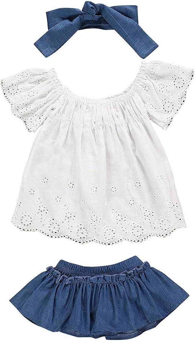 Oasics - Conjunto de Ropa para bebé y niña, Camiseta de Manga ...
