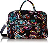 Vera Bradley Iconic Weekender Travel Bag, Signature Cotton, butterfly flutter