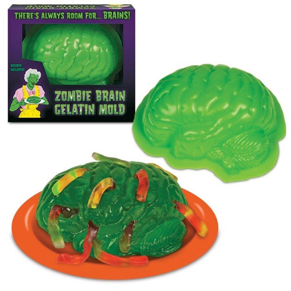 Zombie Brain Life Size Gelatin Jello Mold Halloween Gelatin Mold