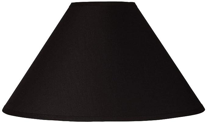 Amazon.com: Negro Chimenea Empire lámpara de techo 6 x 19 x ...