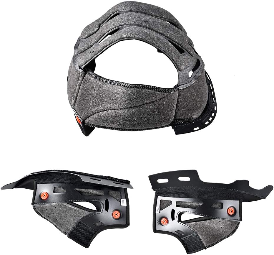 2-3 Riders Pairing Intercom FreedConn Bluetooth Integrated Motorcycle Helmet Multi-Color, L DOT Full Face BM12 Communication System Motorcycle Helmet with 500m FM Radio// MP3
