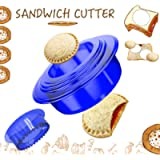 Tribe Glare Uncrustables Sandwich Maker - Sandwich Cutter for Kids - Sandwich Cutter and Sealer Have a Lovely Lunch…