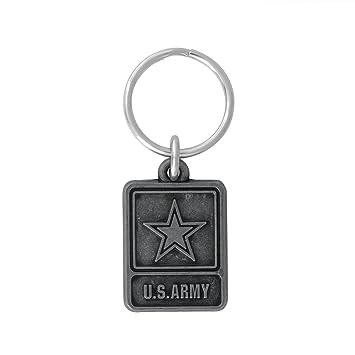 Militar de los Estados Unidos con licencia clave cadena ...