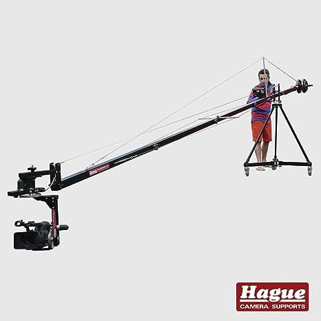 Grúa para cámara Hague K18-PH200 con Pro Pan & Tilt Powerhead ...
