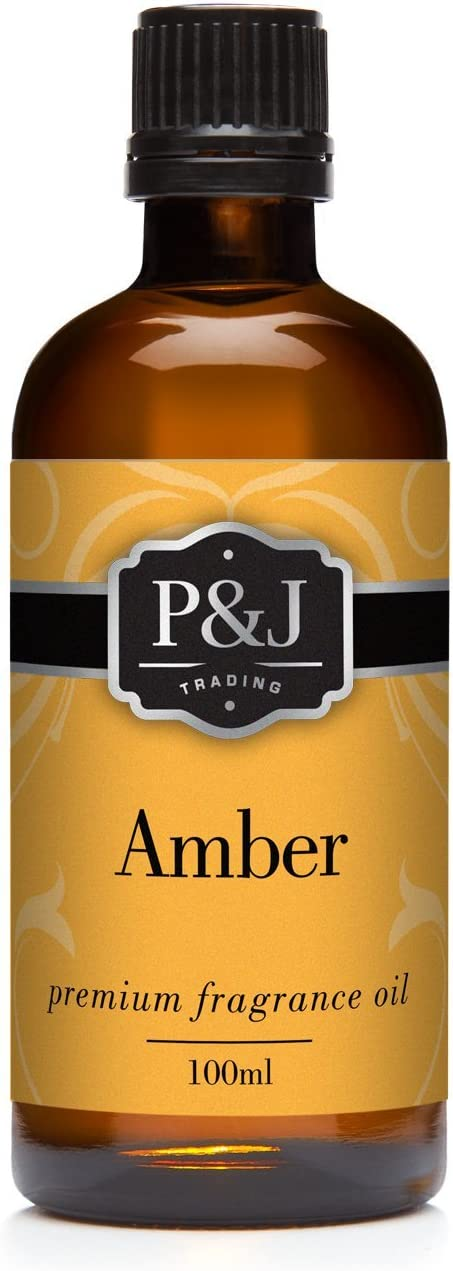 Amber Fragrance Oil - Premium Grade Scented Oil - 100ml/3.3oz