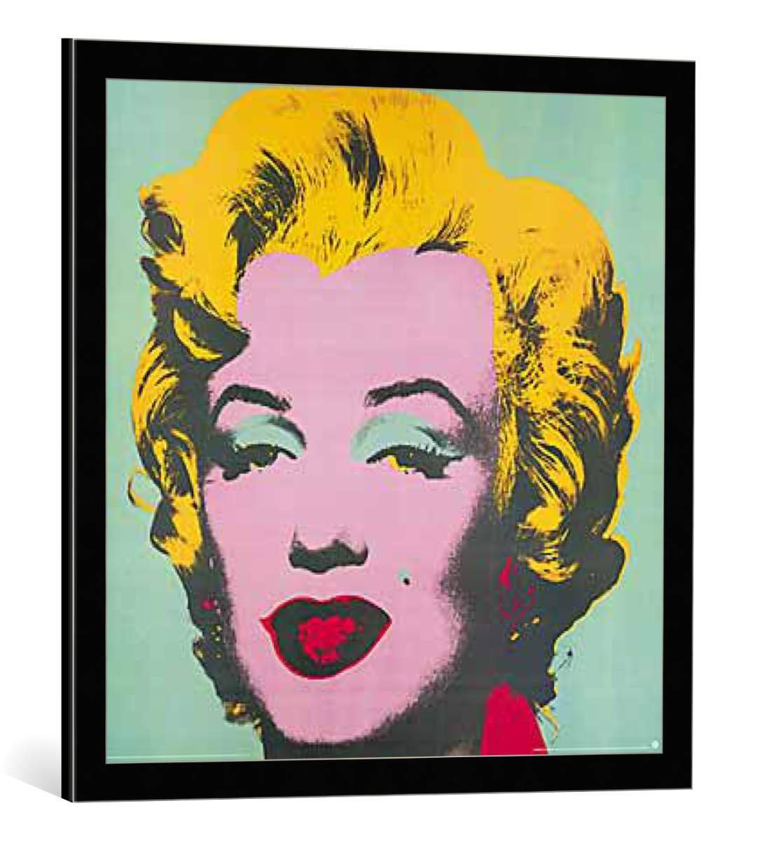 kunst für alle Bild mit Bilder-Rahmen: Andy Warhol Marilyn Monroe ...