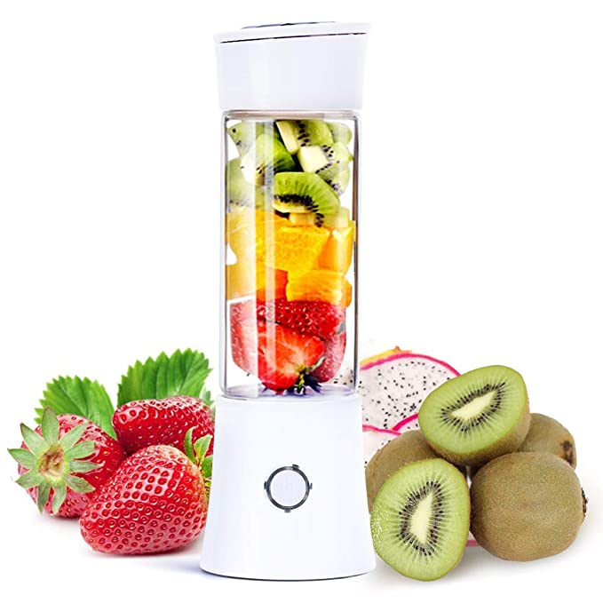 NOBRAND Smoothie Mini Blender, licuadora Multifuncional para ...