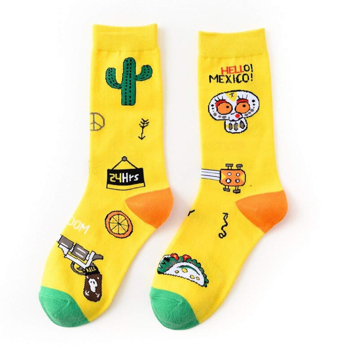 Amazon Com Mellow Shop Socks Funny Women Casual Socks Men
