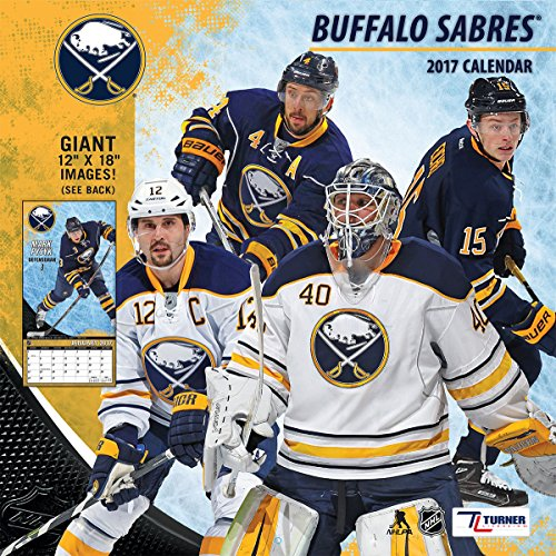 "Turner Licensing Sport 2017 Buffalo Sabres Team Wall Calendar, 12""X12"" (17998011933)"