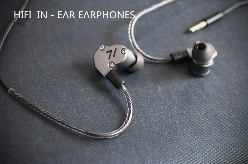 Revonext Qt2 Triple Driver Kopfhörer Metall Ohrhörer Elektronik