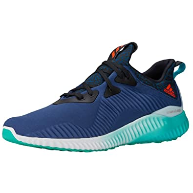 Adidas Alpha Bounce Men's Sport Shoes (9UK / 10US, Navy Blue)