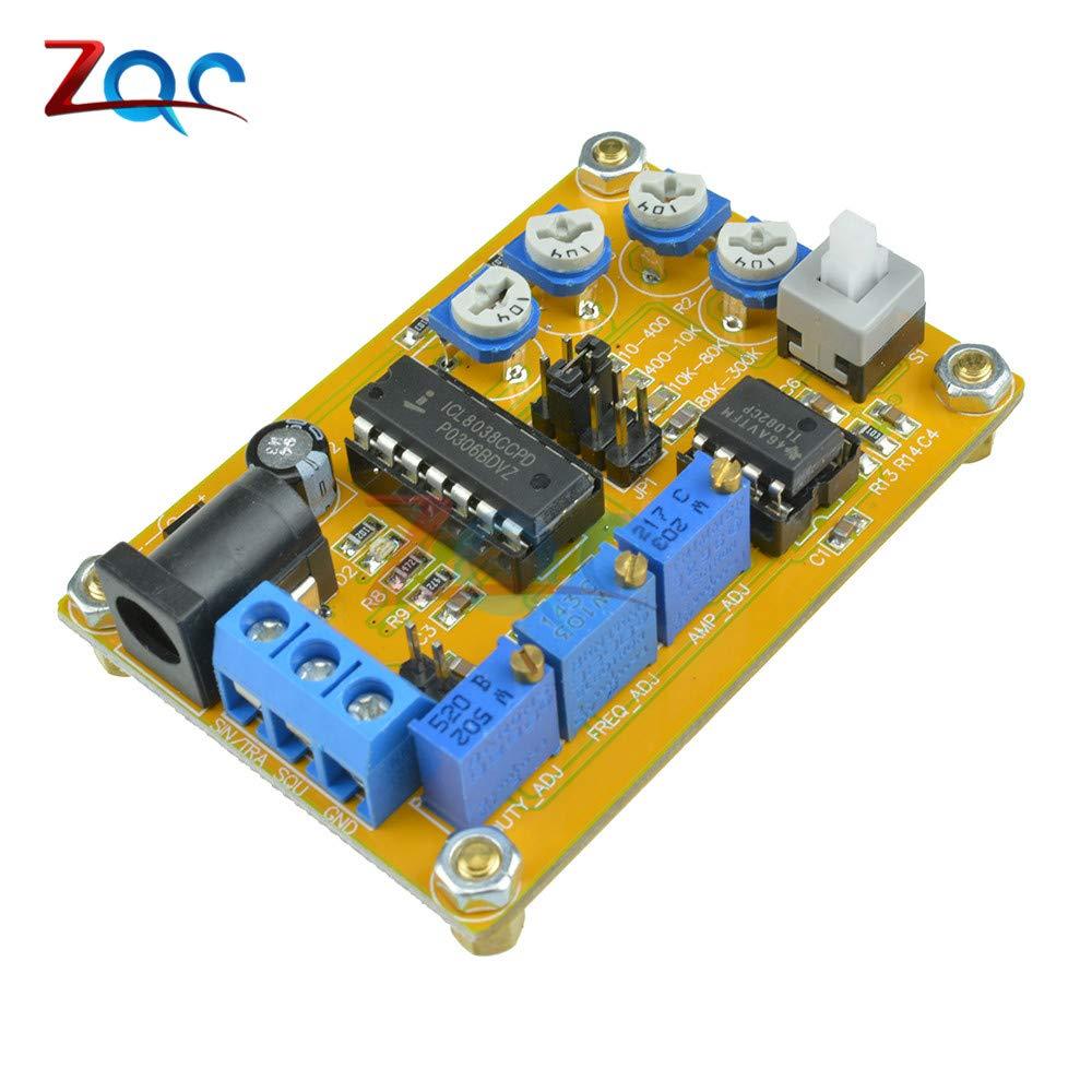 ICL8038 signal generator module sine triangle square wave 10hz-300khz module TPO
