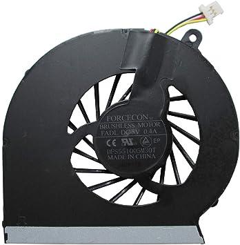 HP Compaq CQ43 CQ57 CQ430 CQ431 CQ435 NFB73B05H-001 ventilador ...