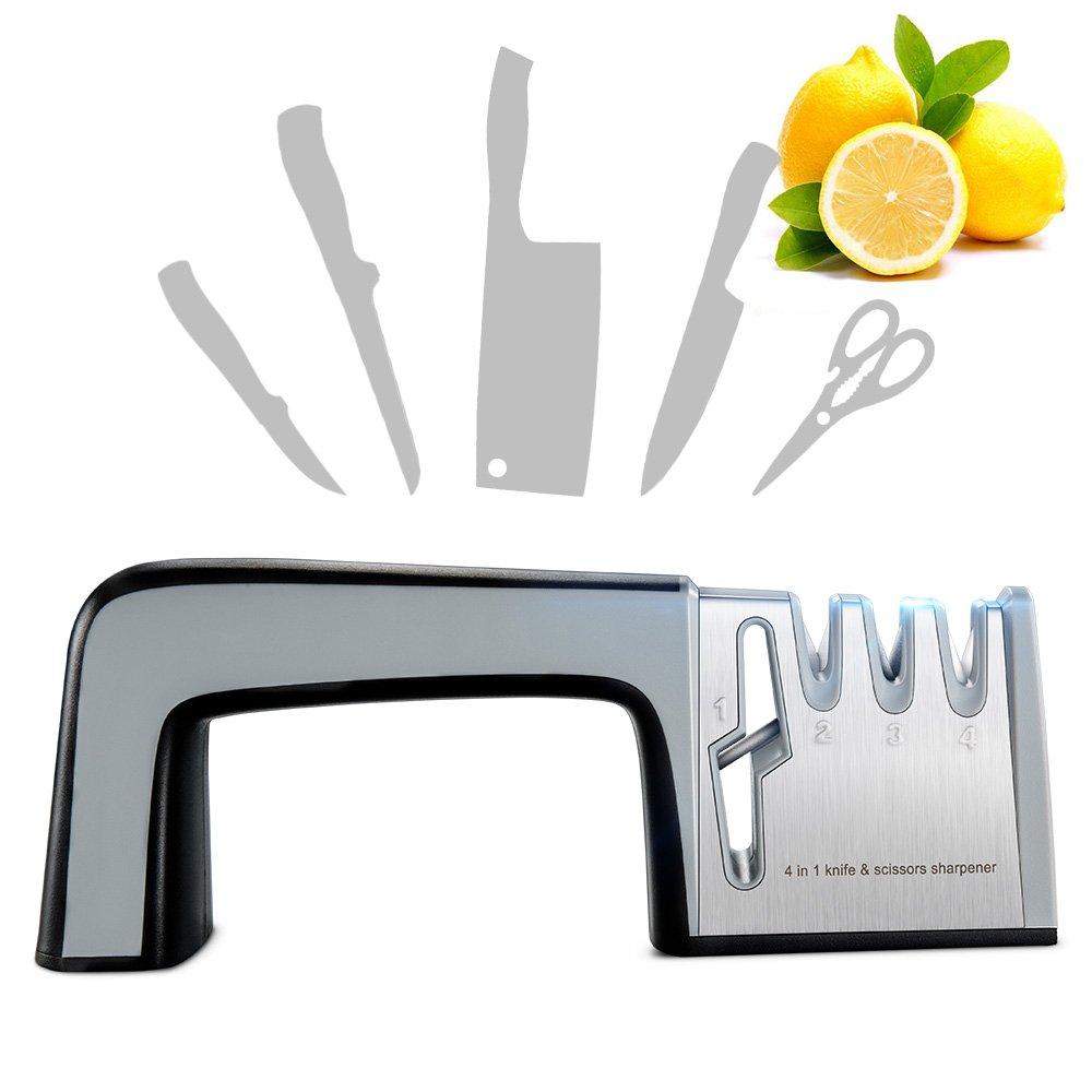 Amazon.com: Knife Sharpener Scissor Sharpener, RIVERSONG Mother\'s ...