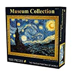 CHengQiSM The Starry Night by Van Gogh Jigsaw