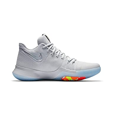 Nike Kyrie 3 TS Mens Basketball-Shoes 852416-001 14 - Pure Platinum Multi d6f94ab1bbf1