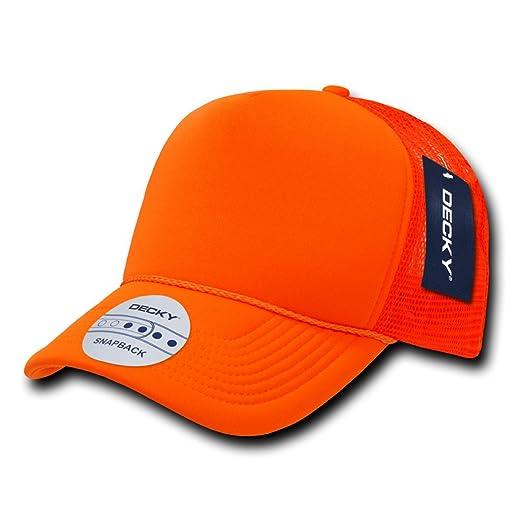 9fbd96833 Decky Industrial Mesh Trucker Cap-bright Neon Orange