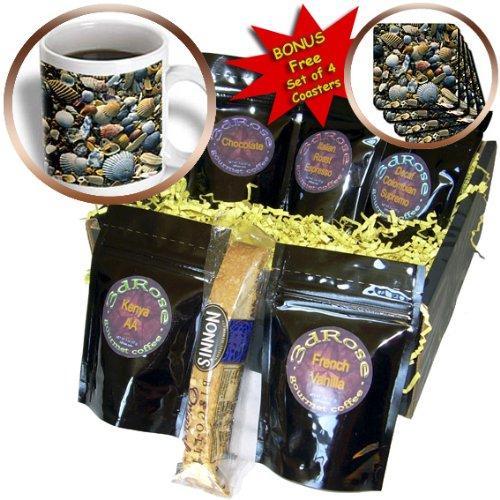 Danita Delimont - Beaches - CAPE HATTERAS beach shells, Outer Banks, NC - US34 SSM0000 - Scott T. Smith - Coffee Gift Baskets - Coffee Gift Basket (cgb_93284_1)