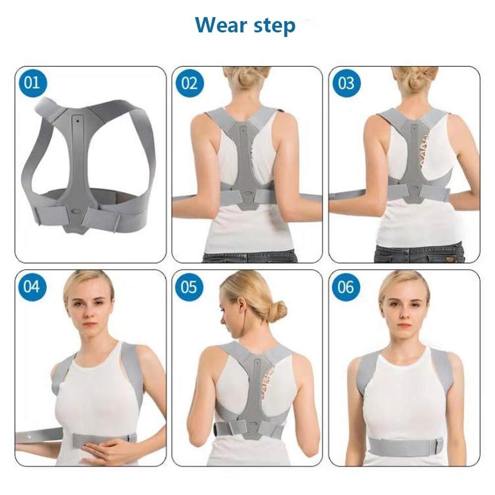 WBBJZBD Anti-Humpback Correction Belt, Invisible Correction Clothing Camelback Correction Belt Anti-Humpback Back Correcting Spinal Correction Belt (Size : L) by WBBJZBD (Image #3)