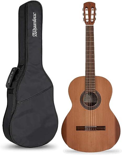 Alhambra Laqant College - Pack Guitarra Clásica Española + Funda: Amazon.es: Instrumentos musicales