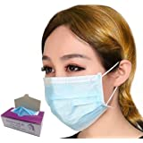 Maryger Disposable Procedure Surgical Face Mask 50 Counts (Blue)