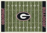 Milliken 4000018692 Georgia College Home Field Area Rug, 10'9'' x 13'2'', 01080 Home Field
